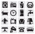 Furniture And Home Icons Royalty Free Stock Image - 26999076