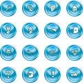 Computer And Internet Icons Stock Photos - 2701123