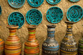 Artistic Handmade Clay Pottery Stock Images - 27004164