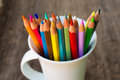 Color Pencils Royalty Free Stock Photos - 27007298