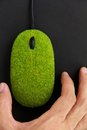 Eco Mouse Concept Royalty Free Stock Image - 27013046