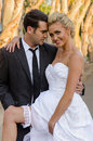 Bride And Groom Royalty Free Stock Photography - 27019057
