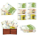 Euros In Different Forms Stock Photos - 27019773