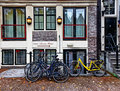 Hotel In Amsterdam Royalty Free Stock Photo - 27020795