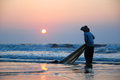 Fishing In The Morning Royalty Free Stock Photography - 27028697