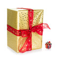Big And Small Present Royalty Free Stock Image - 27029016