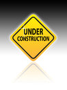 Web Site Under Construction Sign Royalty Free Stock Photography - 27056527