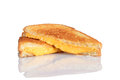 Grilled Cheese Sandwich With Reflection Royalty Free Stock Photos - 27070938