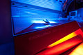 Tanning Bed At Solarium Studio Stock Image - 27090561
