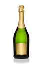 Bottle Of Champagne. Stock Photos - 27091563