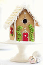 Gingerbread House Royalty Free Stock Photography - 27092737