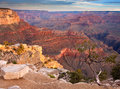 Sunrise Over The Grand Canyon Royalty Free Stock Photo - 27100005