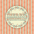 Retro Merry Christmas Background Stock Photography - 27105572