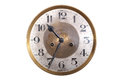 Old Antique Wall Clock Royalty Free Stock Photo - 27118745