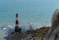 Lighthouse At Beachy Head Near Of Newhaven Stock Photos - 27124793