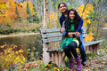 Loving Mother And Daughter Enjoying Autumn Stock Photography - 27130222