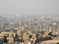 Cairo Aerial View With Smog Royalty Free Stock Images - 27150289