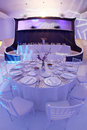 Wedding Ballroom Stock Image - 27157911
