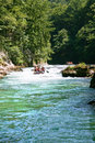 Rafting In The Canyon Of River Neretva Stock Photography - 27162942