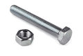 Bolt And Nut Royalty Free Stock Photo - 27169965