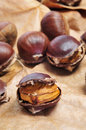 Roasted Chestnuts Stock Images - 27173234