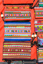Colorful Graphic Hill Tribe Hand Made Bag Royalty Free Stock Images - 27175269
