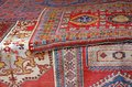 Heaps Of Valuable Oriental Carpets Royalty Free Stock Photos - 27179428