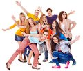 Group Sport Fan Cheer For. Stock Photos - 27184183