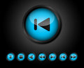 Play Buttons Royalty Free Stock Images - 27190829