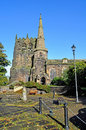 A Typical Village Church In The Uk Royalty Free Stock Photo - 27196435