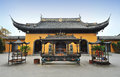 Chinese Temple Building Stock Photography - 27197432