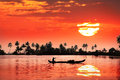 Tropical Sunset Royalty Free Stock Images - 27198409