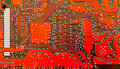 Red Circuit Board Royalty Free Stock Photos - 2721238