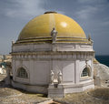 Yellow Dome Of Cadiz Cathedral Royalty Free Stock Images - 2728259