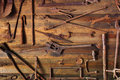 Rusty Tools Royalty Free Stock Images - 27202299