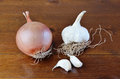 Onion And Garlic Stock Photography - 27208942