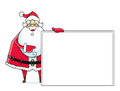 Santa Claus With Sign Stock Photography - 27213502