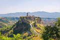 Panoramic View Of Civita Di Bagnoregio. Lazio. Italy. Royalty Free Stock Image - 27219426