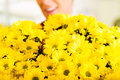 Female Florist In Flower Shop Royalty Free Stock Photos - 27225338