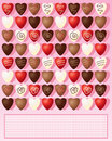 Chocolate Hearts Royalty Free Stock Photography - 27236207