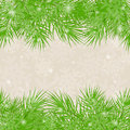 Christmas Green Background Christmas-tree Branches Stock Photos - 27236973
