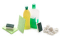 Domestic Cleaning Products  Royalty Free Stock Photo - 27242595