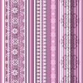 Seamless Striped Pink Pattern Royalty Free Stock Images - 27248849