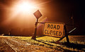 Road Closed Sign Royalty Free Stock Images - 27249489