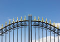 Iron Fence Stock Image - 27262221
