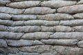 Sandbags For Flood Protection Stock Images - 27265114