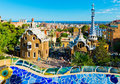 Park Guell In Barcelona Royalty Free Stock Images - 27269079