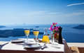Table Above Sea For Two Royalty Free Stock Image - 27272286