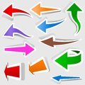 Colored Arrows Stock Image - 27279831