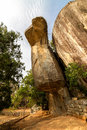 Cobra-shaped Rock In Sigiriya Palace Stock Photo - 27281630